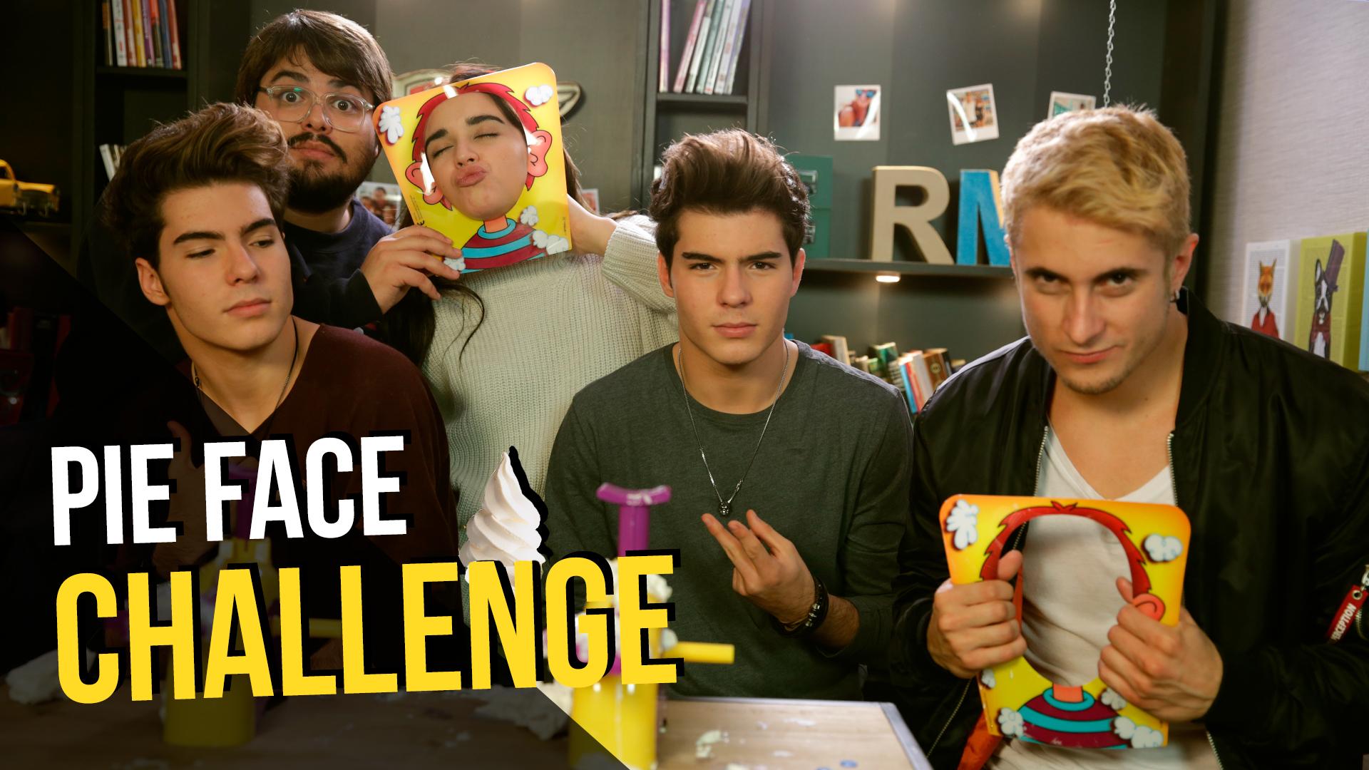 Temporada 1 'Pie Face Challenge' con Gemeliers