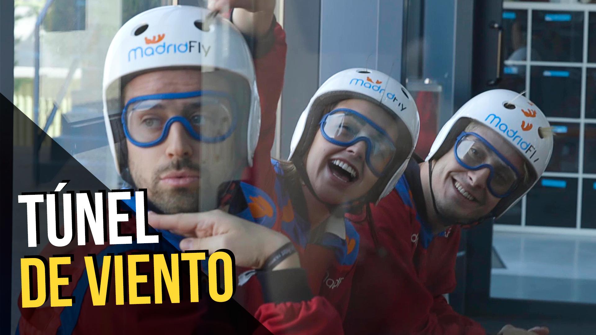 Temporada 1 Volamos en el túnel de viento de 'Madrid Fly'