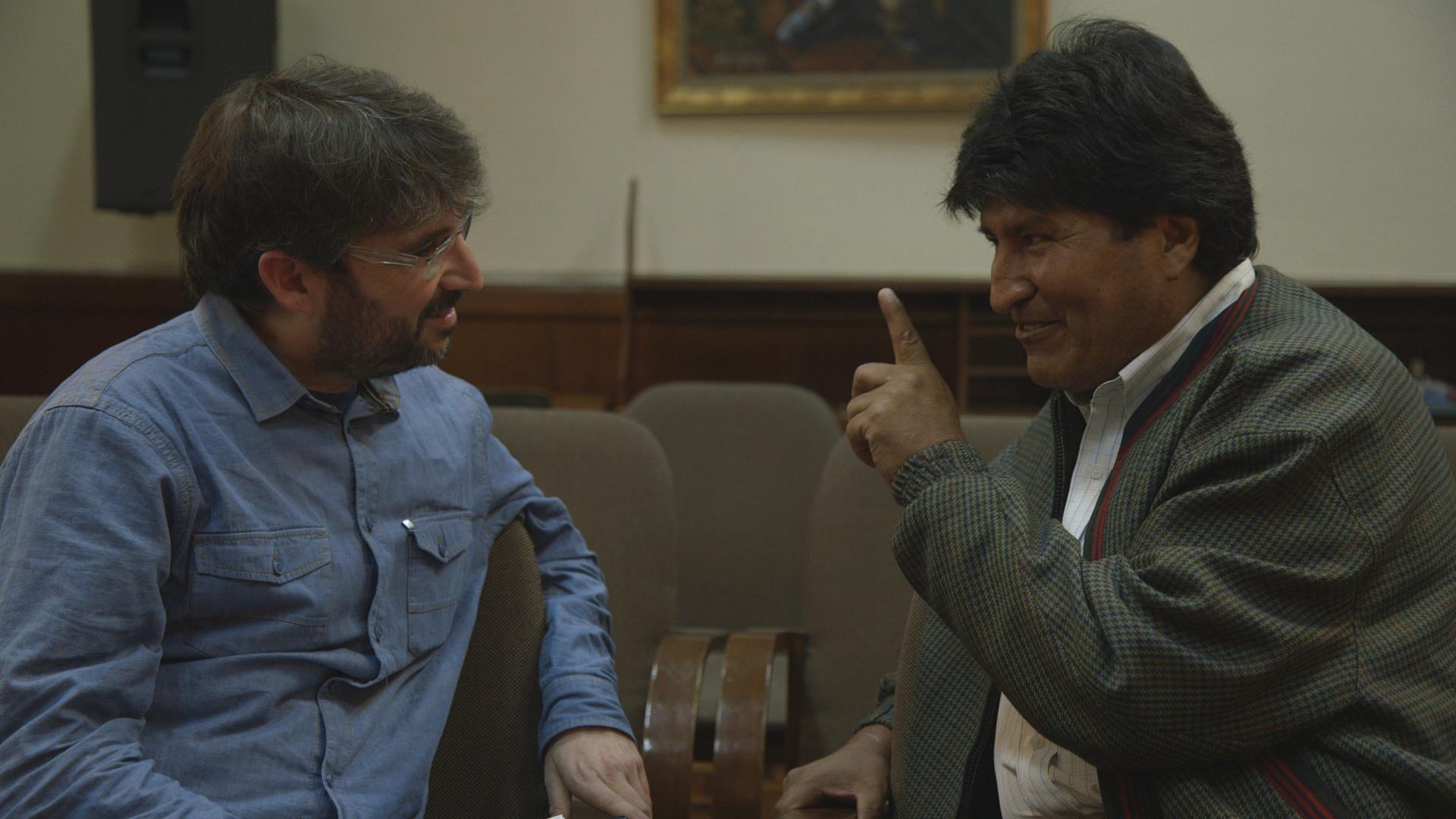 Temporada 10 Evo Morales, presidente de Bolivia