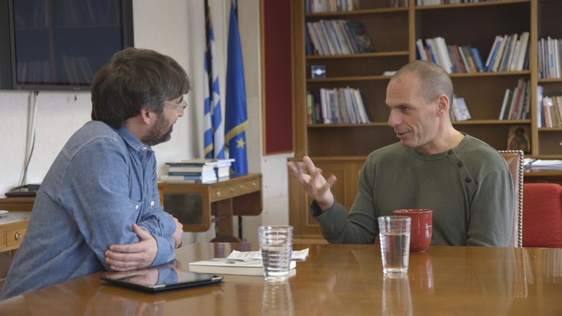 Temporada 10 Varoufakis, ministro de Finanzas griego