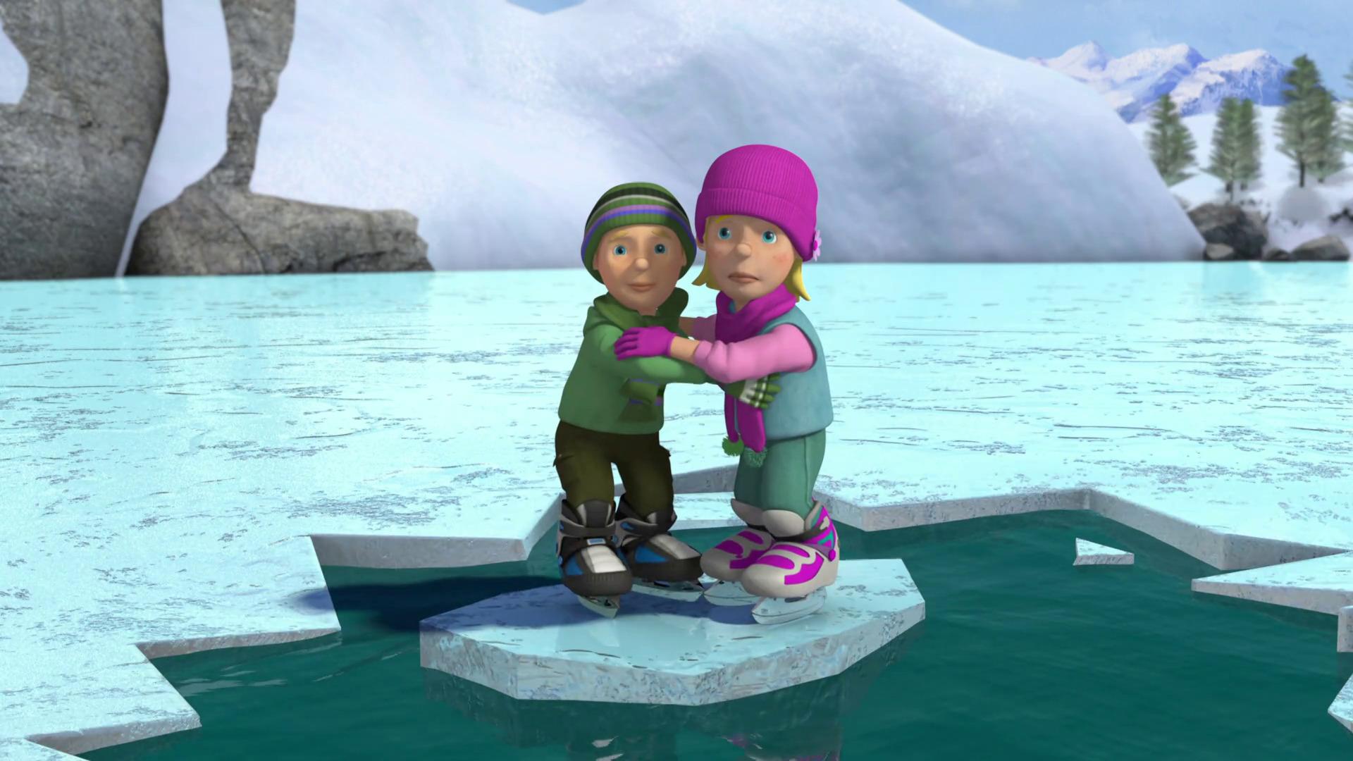 Temporada 9 T9 - C4: Sobre hielo