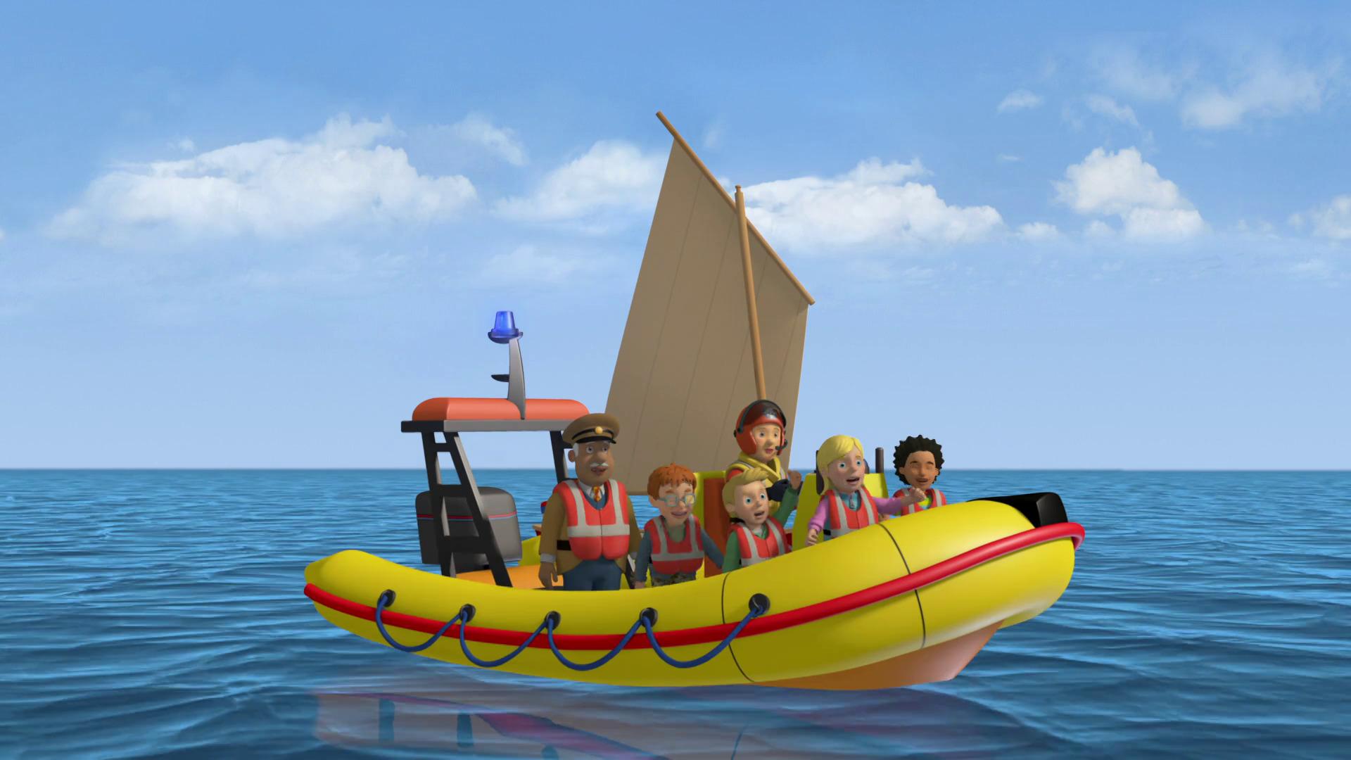 Temporada 9 T9 - C6: La fuga de la isla de Pontypandy