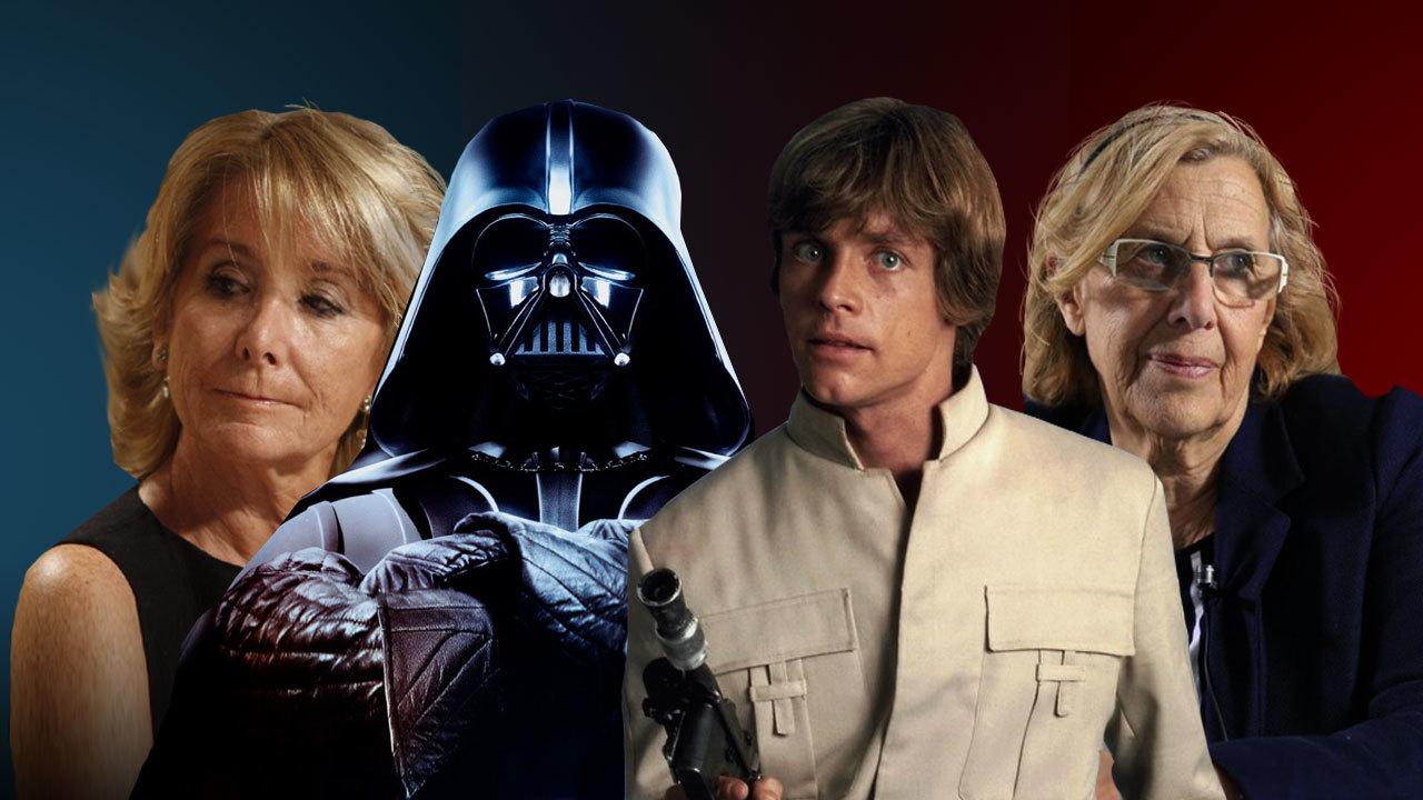 Temporada 1 Darth Vader, enfurecido porque Luke Skywalker ha votado a los rojos