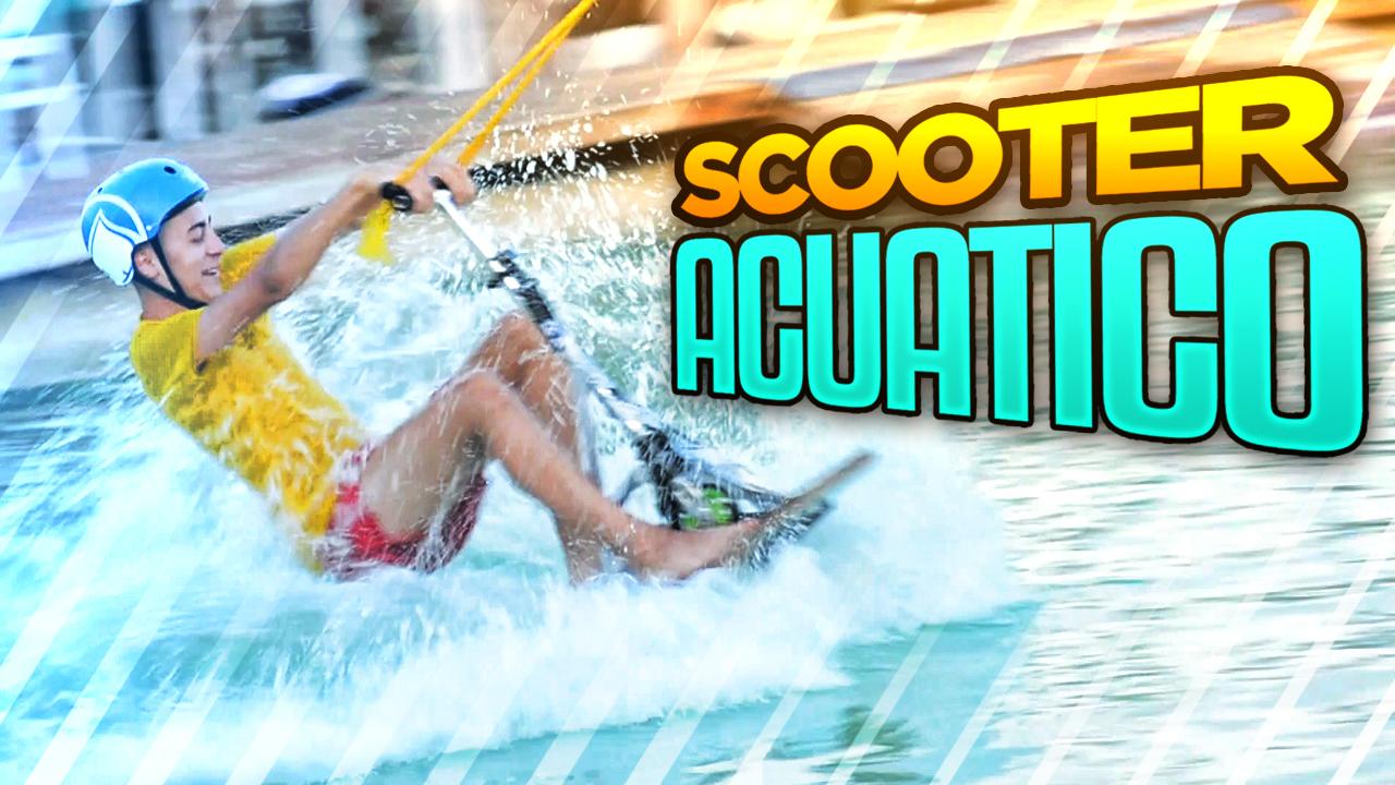 T1 Squad Creado un scooter acuático!! (wakeboad extremo con la squad)