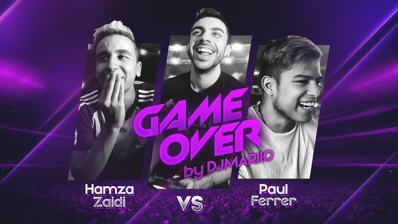 T1 Squad GAME OVER by DjMaRiiO | Hamza Zaidi vs Paul Ferrer