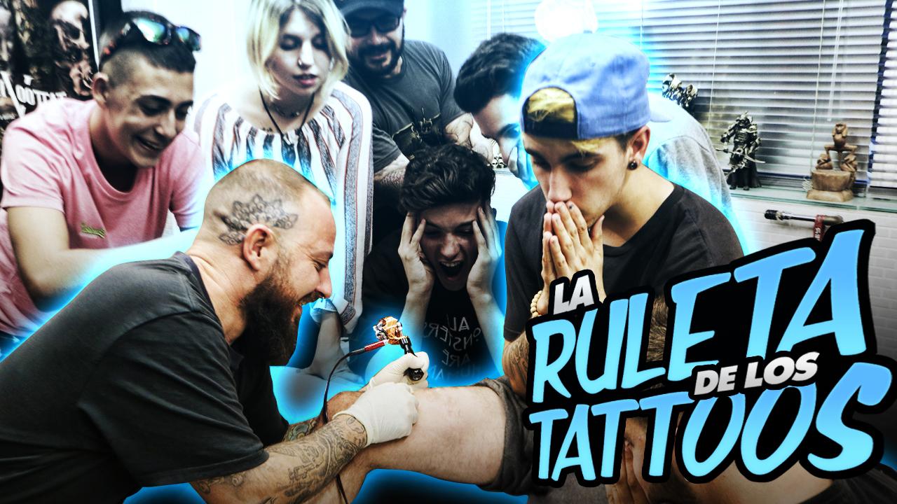 T1 Squad La ruleta de los tattoos