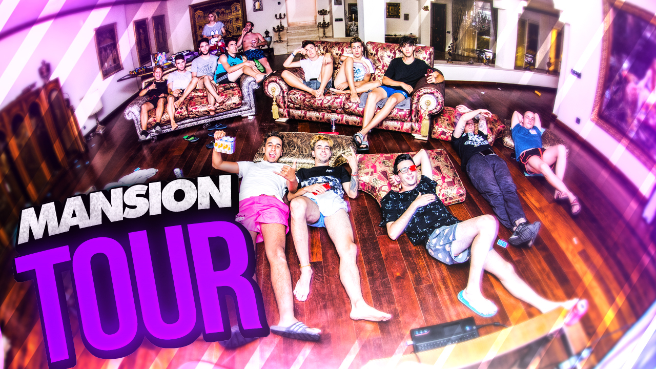 T2 Squad Summer mansion  SQUAD Summer Mansion Tour