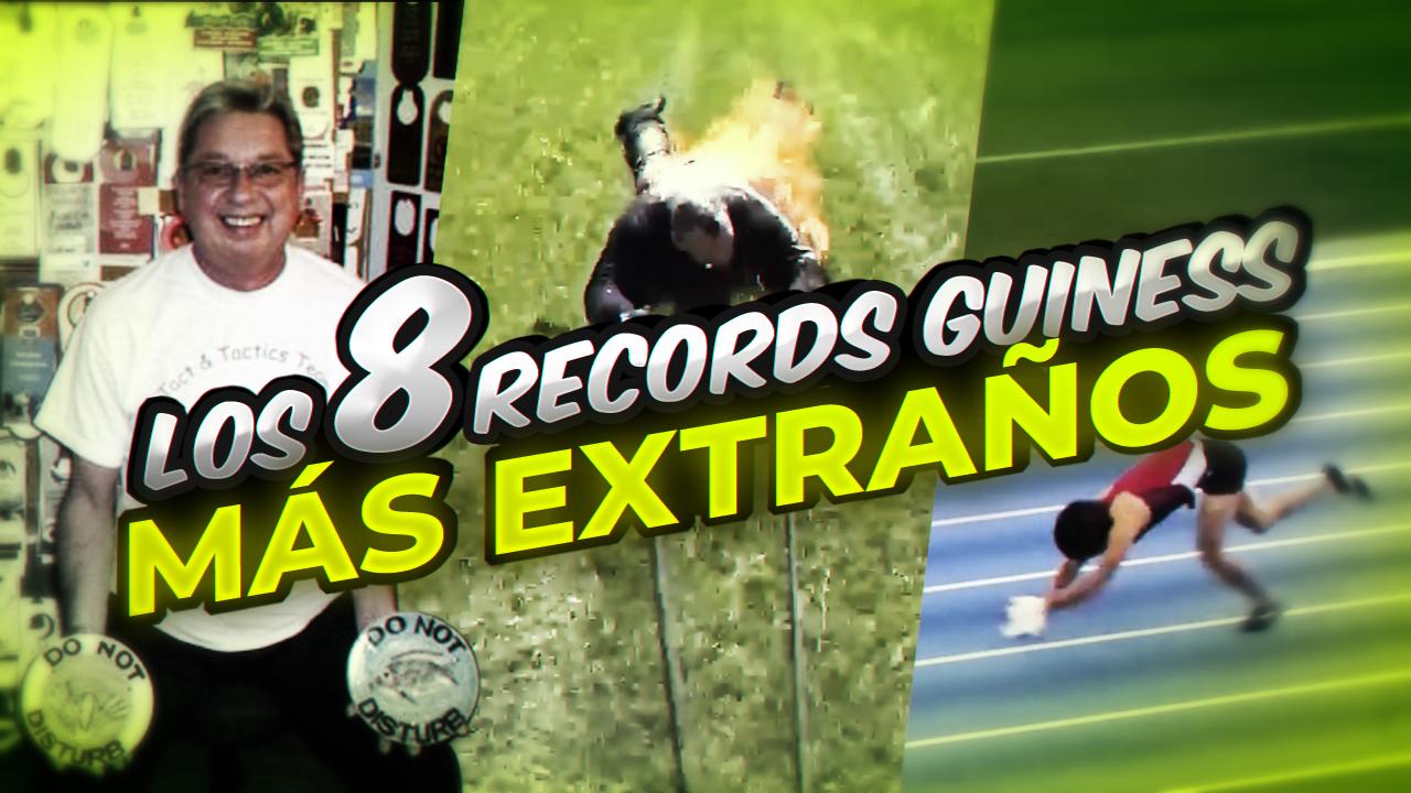T5 Squad Los 8 records Guinness más extraños