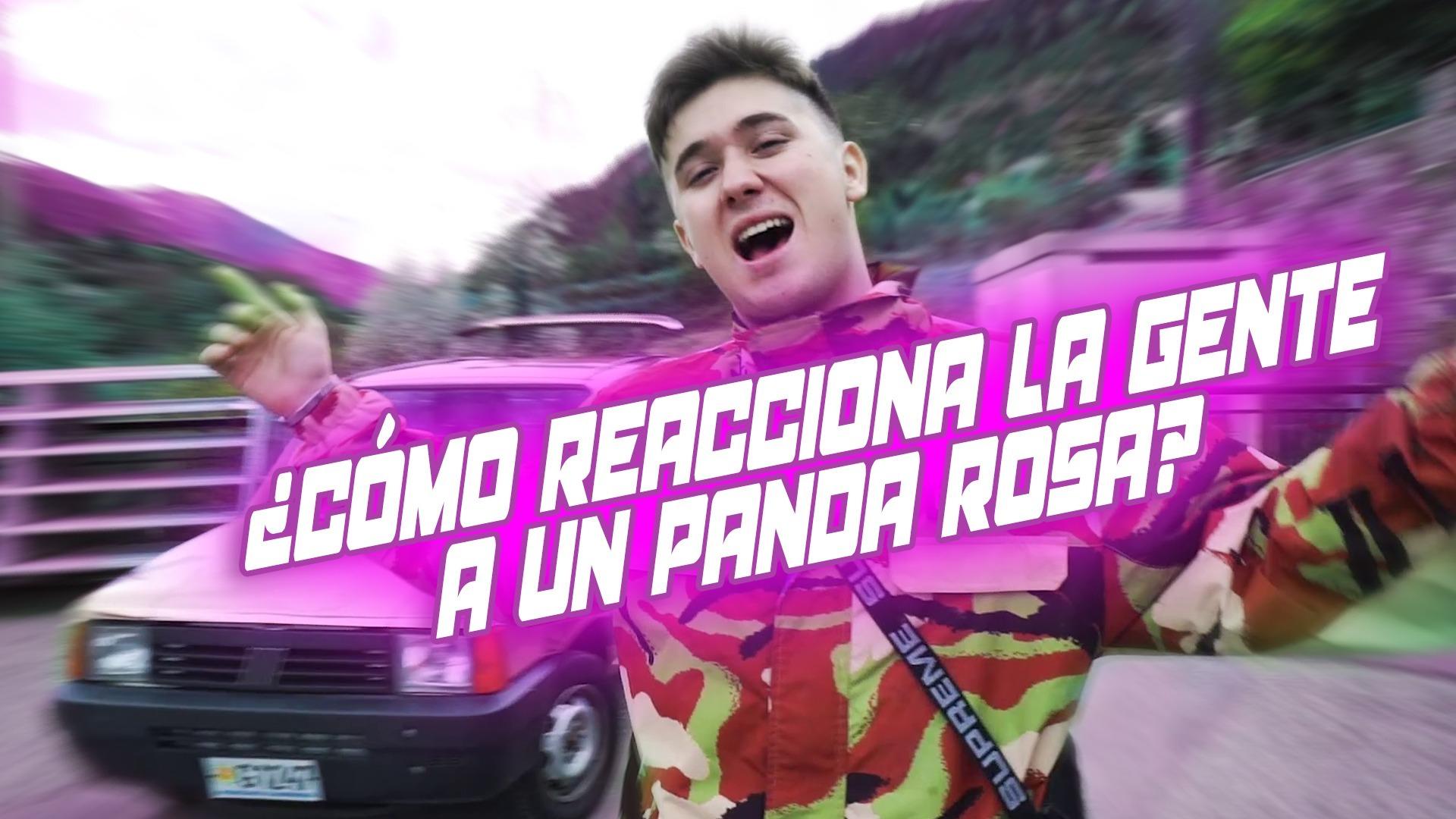 T6 Squad Cómo reacciona la gente a un panda rosa | TheShooterCoC