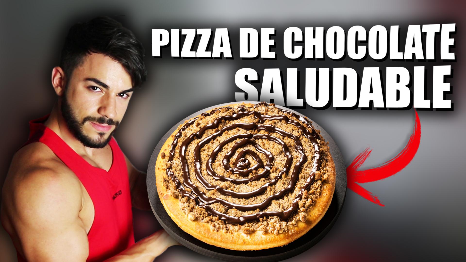 T6 Squad Receta pizza de chocolate fitness saludable y rápida | Corbacho