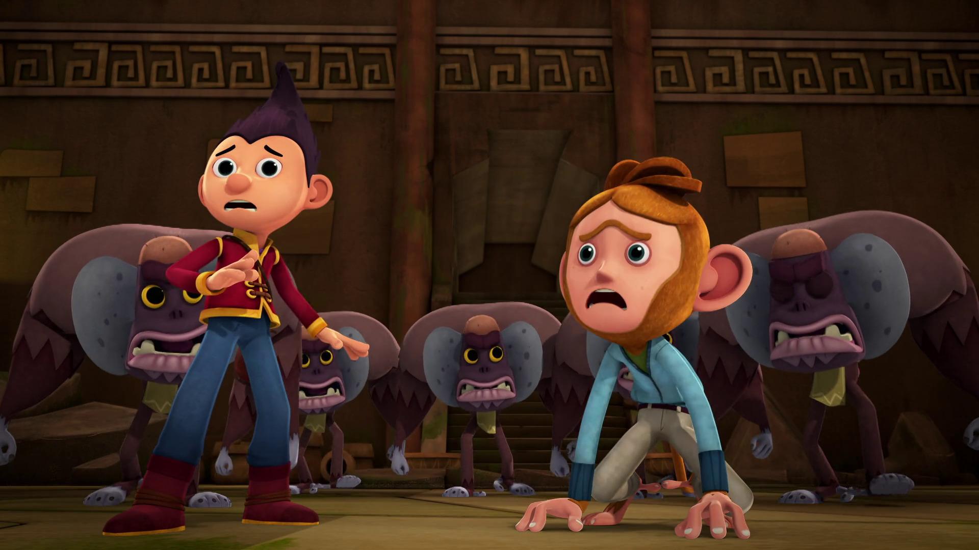 Temporada 1 Capítulo 13: Tashi y la maldición del beso de mono