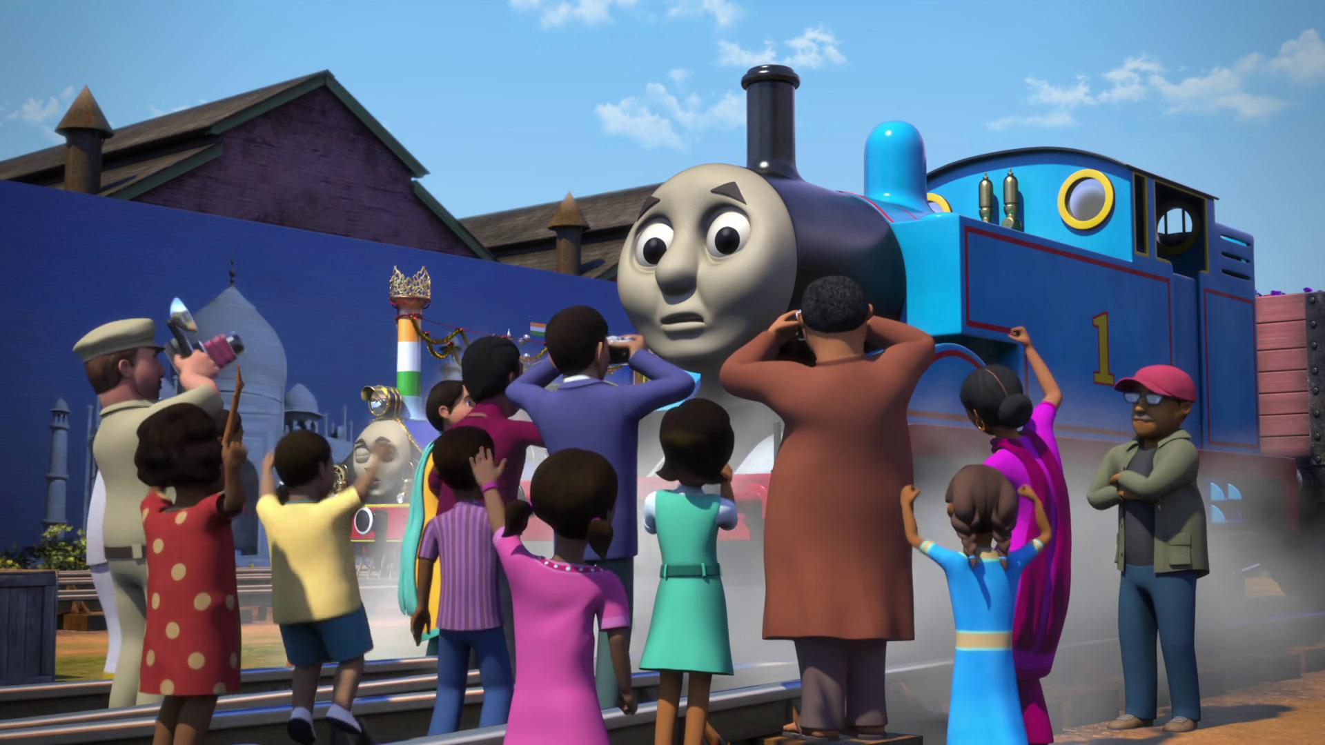 Temporada 22 Capítulo 7: Thomas en Bollywood