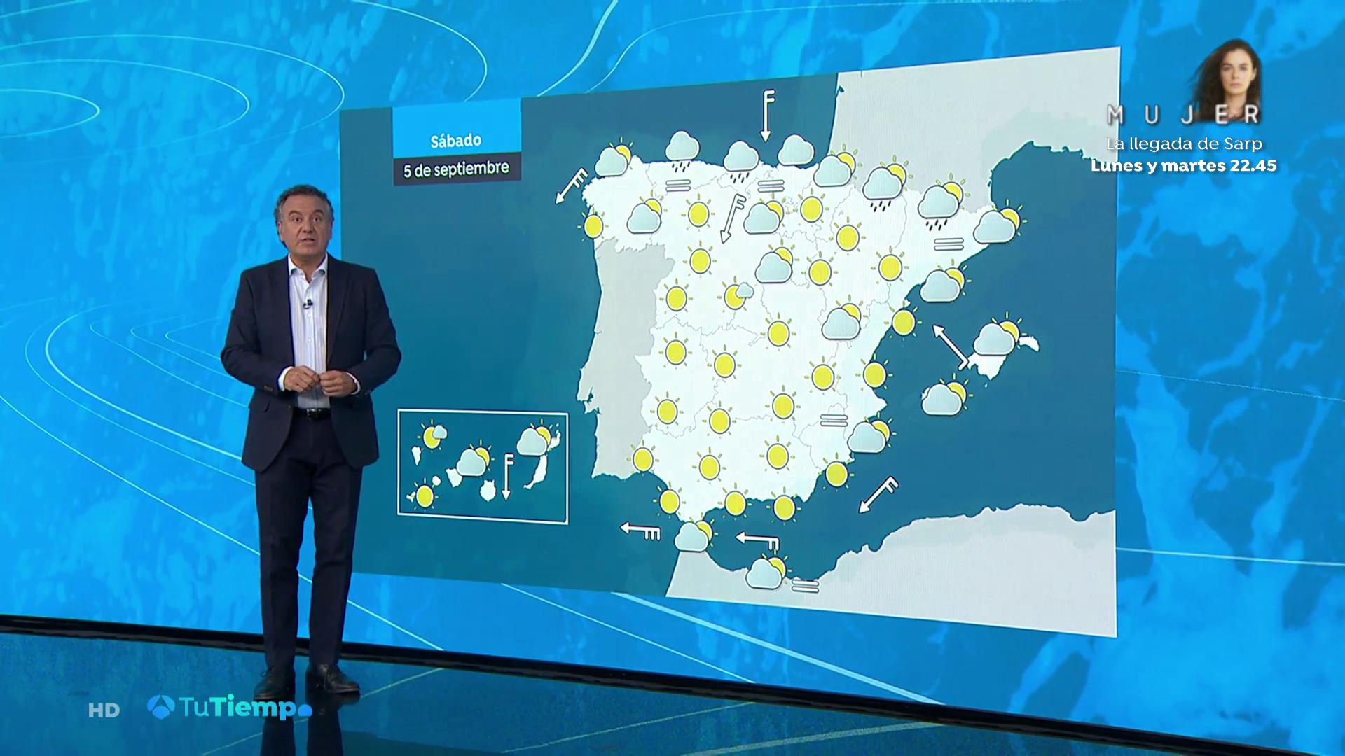 Septiembre 2020 (04-09-20) Calor y refresco en el norte