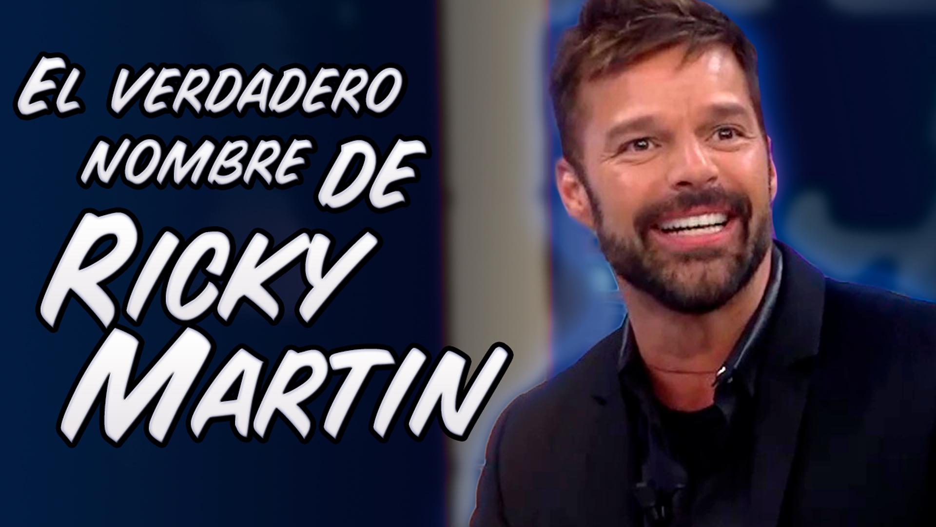 Temporada 1 El verdadero nombre de Ricky Martin (Doblaje) | Korah