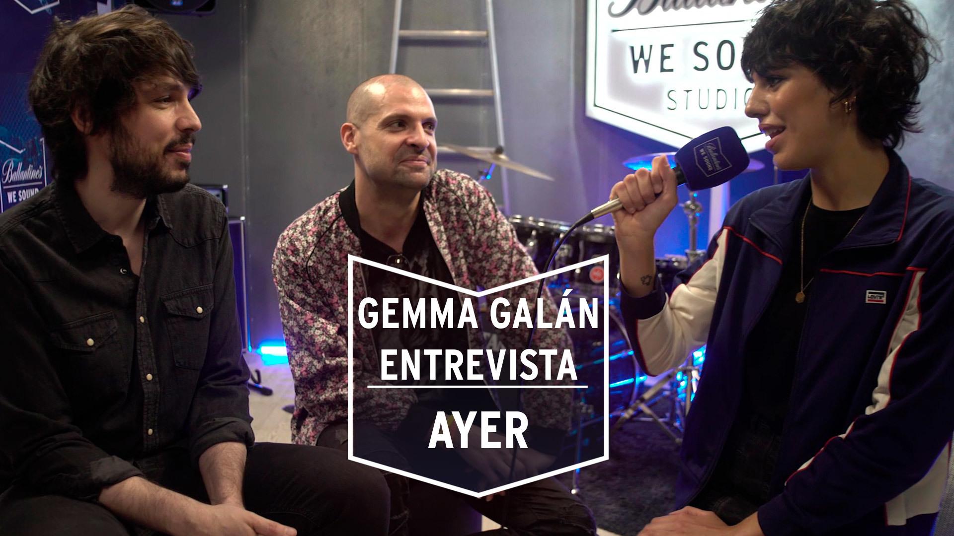 Temporada 1 Gemma Galán entrevista a 'Ayer' en su ensayo para la sala 'El Sol' | We Sound