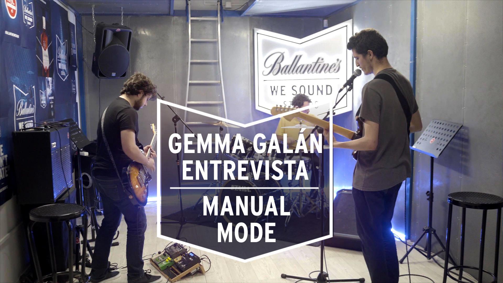 Temporada 1 Gemma Galán entrevista a 'Manual Mode' en su ensayo   We Sound