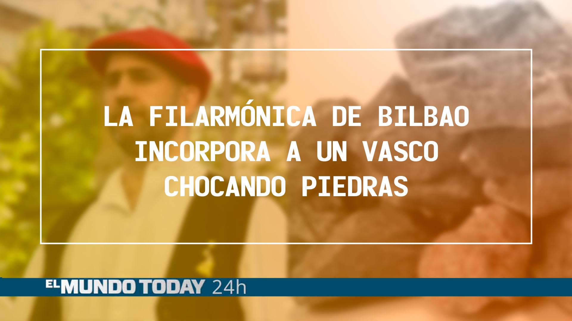 Temporada 1 La filarmónica de Bilbao incorpora a un vasco chocando  piedras en la sección de percusión | Noticias 'El Mundo Today'
