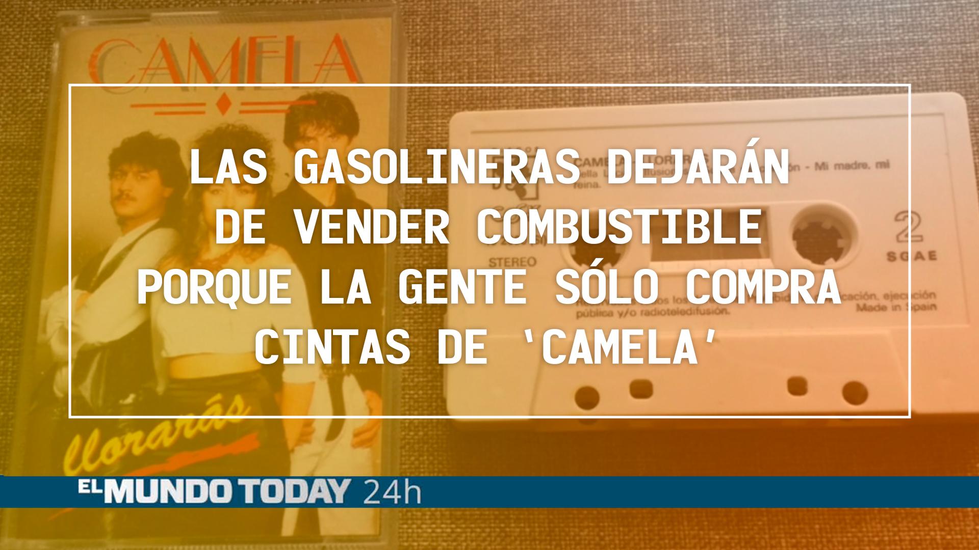 Temporada 1 Las gasolineras dejarán de vender combustible porque la gente sólo compra cintas de 'Camela'