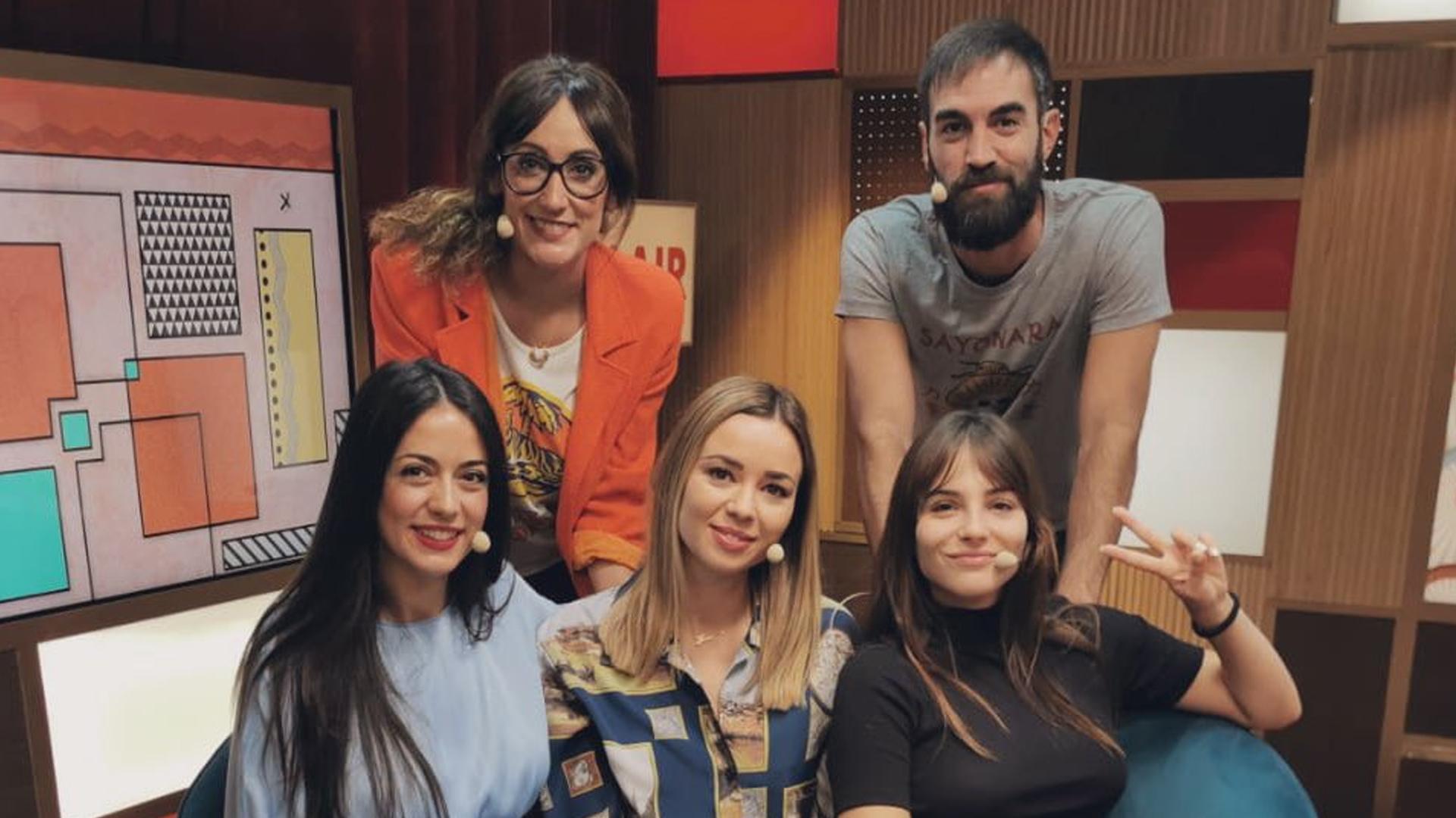 2019 (03-10-2019) Andrea Duro, Dafne Fernández y Verónica Perona