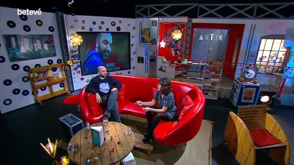 13 d'Abril de 2017 Àrtic: Entrevista a Marc Pastor