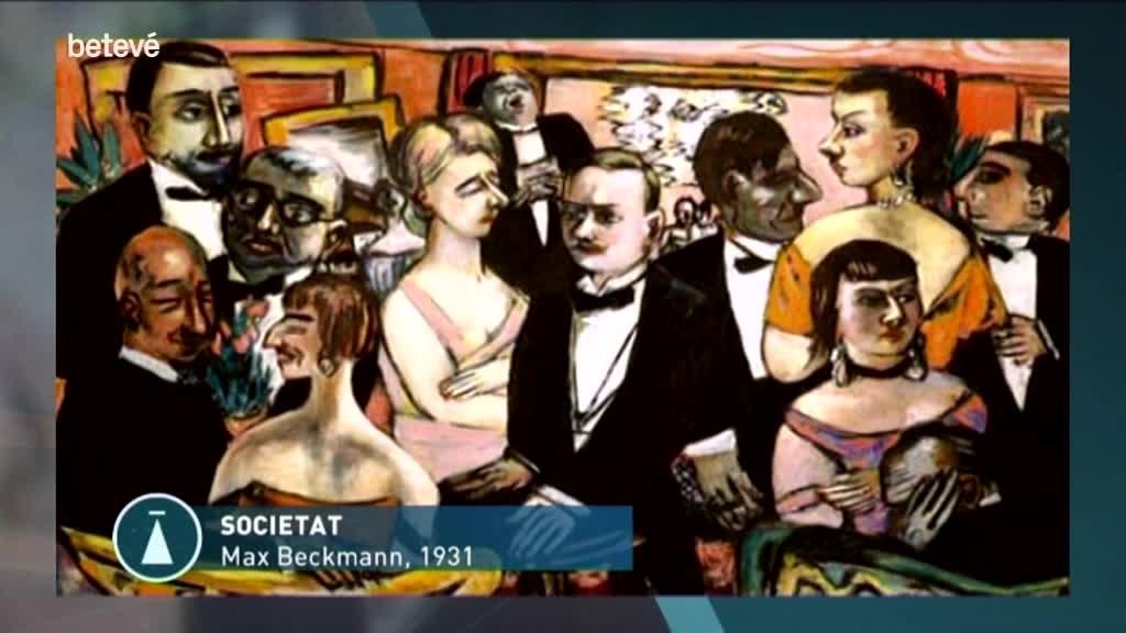 5 de Març de 2019 Max Beckmann i l'expressionisme alemany