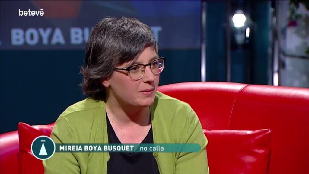 """9 de Març de 2020 Mireia Boya Busquet: """"Volia reivindicar les dones de l'1 d'octubre"""""""