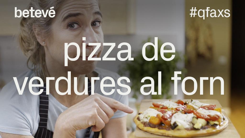 Pizza de verdures al forn 20 de març de 2019