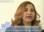 03/15/2015 Liz Vargas, Profesora de la Universidad de Estudios Internacionales de Beijing