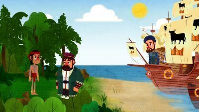 de leyenda - Magallanes y Elcano