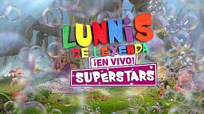 Promo Lunnis de Leyenda Superstars  ¡En vivo!