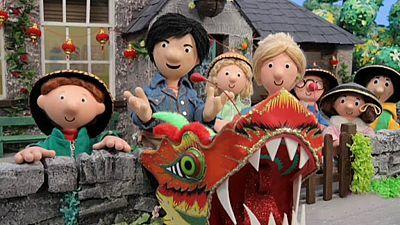 Programa  Pat el cartero. Título  y el dragón chino. Descripcion  Es el Día  de China en la escuela y los niños están muy ansiosos por la celebración  con ... a58aee59362
