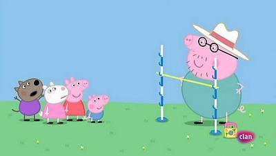 Juegos de jardín | Peppa Pig | Clan TVE | Televisión a la carta