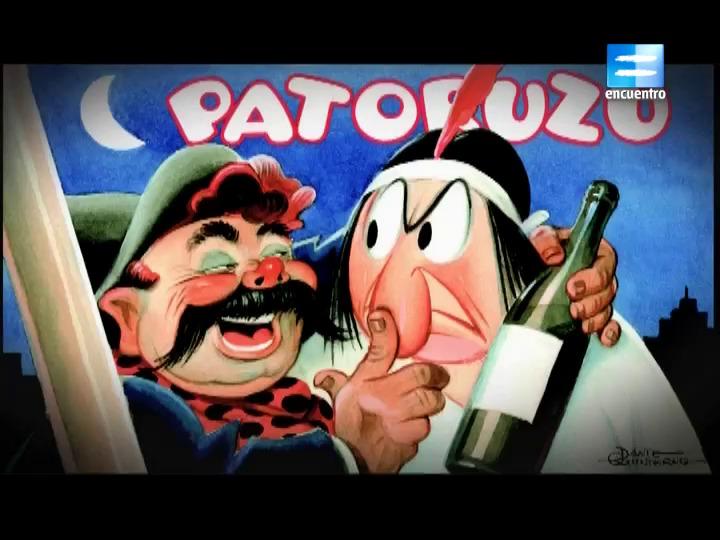 3 - Dante Quinterno y Patoruzú