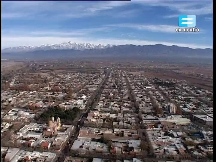 11 - Región Cuyo: acequias en Mendoza