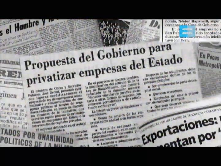 7 - El proceso de privatizaciones
