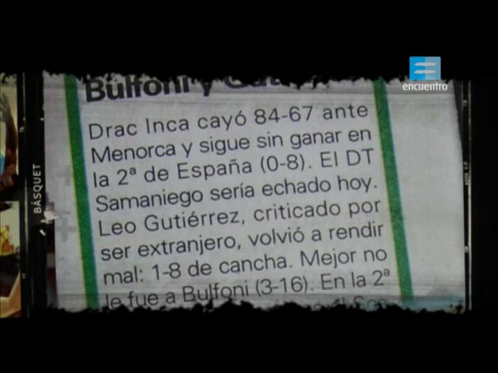 III - 2 - Básquet: Leo Gutiérrez