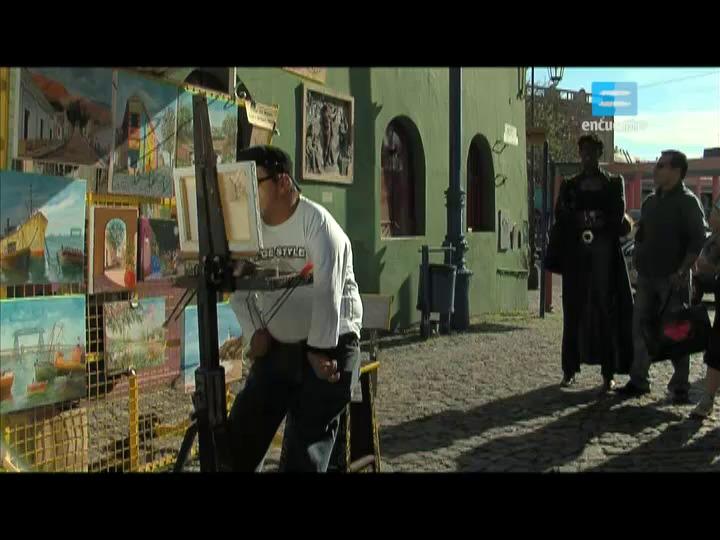 II - 1 - Carlos y Antonella, pintores sin manos