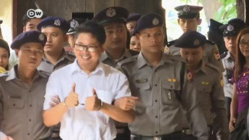7 años de cárcel a 2 periodistas birmanos por investigar matanza de rohinyás