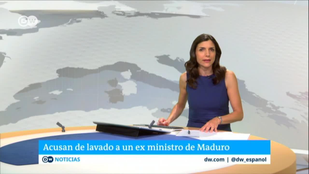 Acusan de lavado de dinero a exministro de Maduro