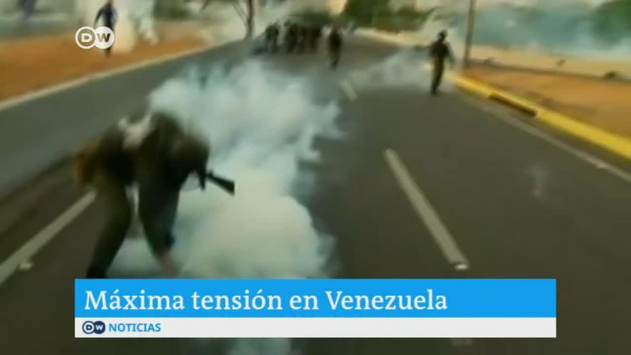Agresiones a la prensa en Venezuela