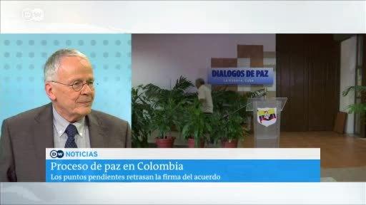 Alemania impulsa la paz en Colombia