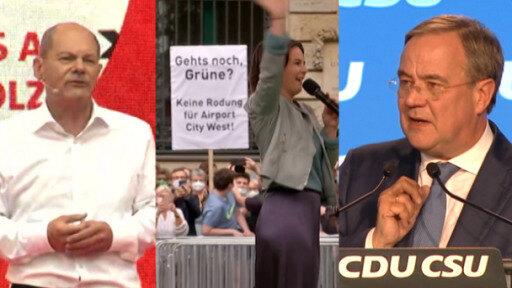 Alemania: principales partidos recortan distancias
