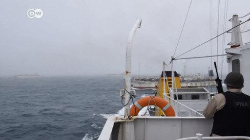 Argentina dispara a un barco chino