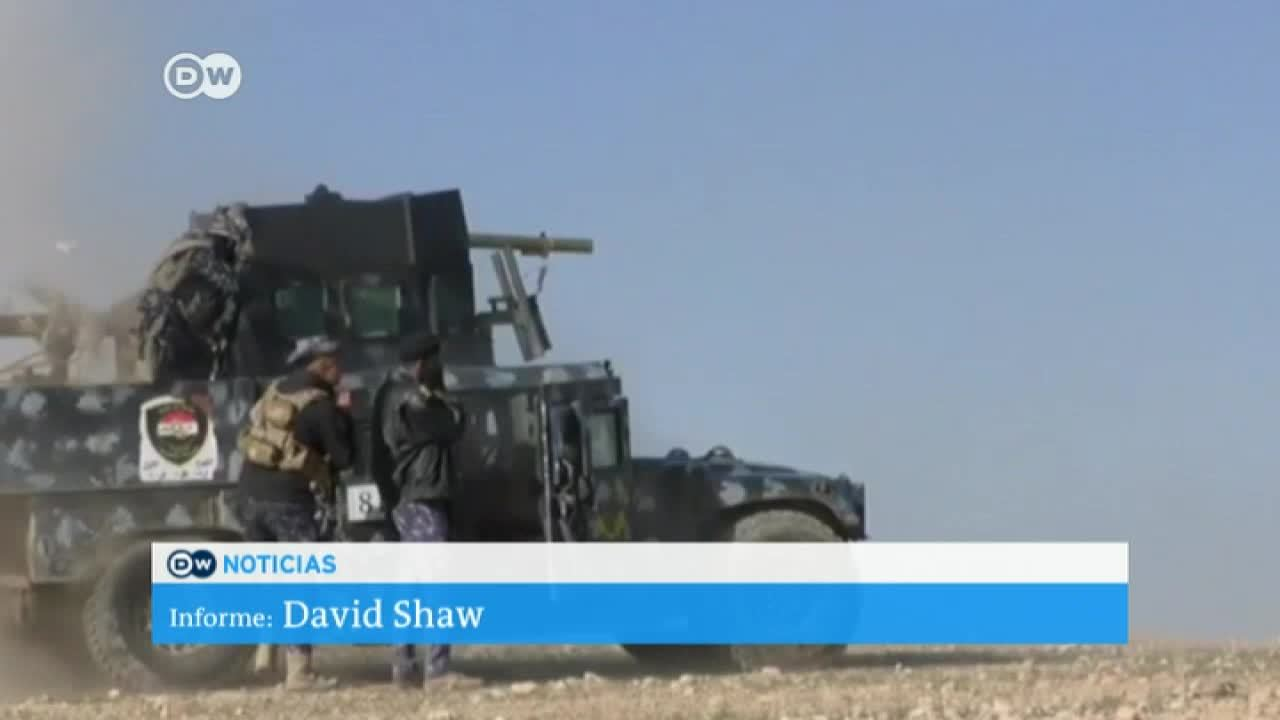 Avanza la ofensiva por Mosul