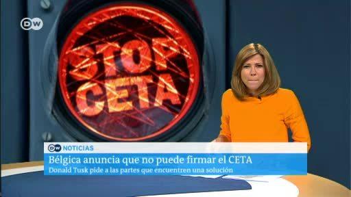 Bélgica anuncia que no puede firmar el CETA