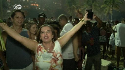 Brasil y México celebran la llegada del 2018