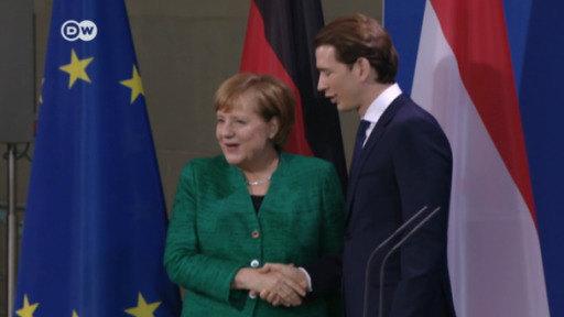 Canciller austriaco visita Berlín