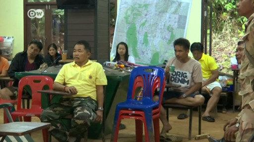 Carrera contra el tiempo en Tailandia