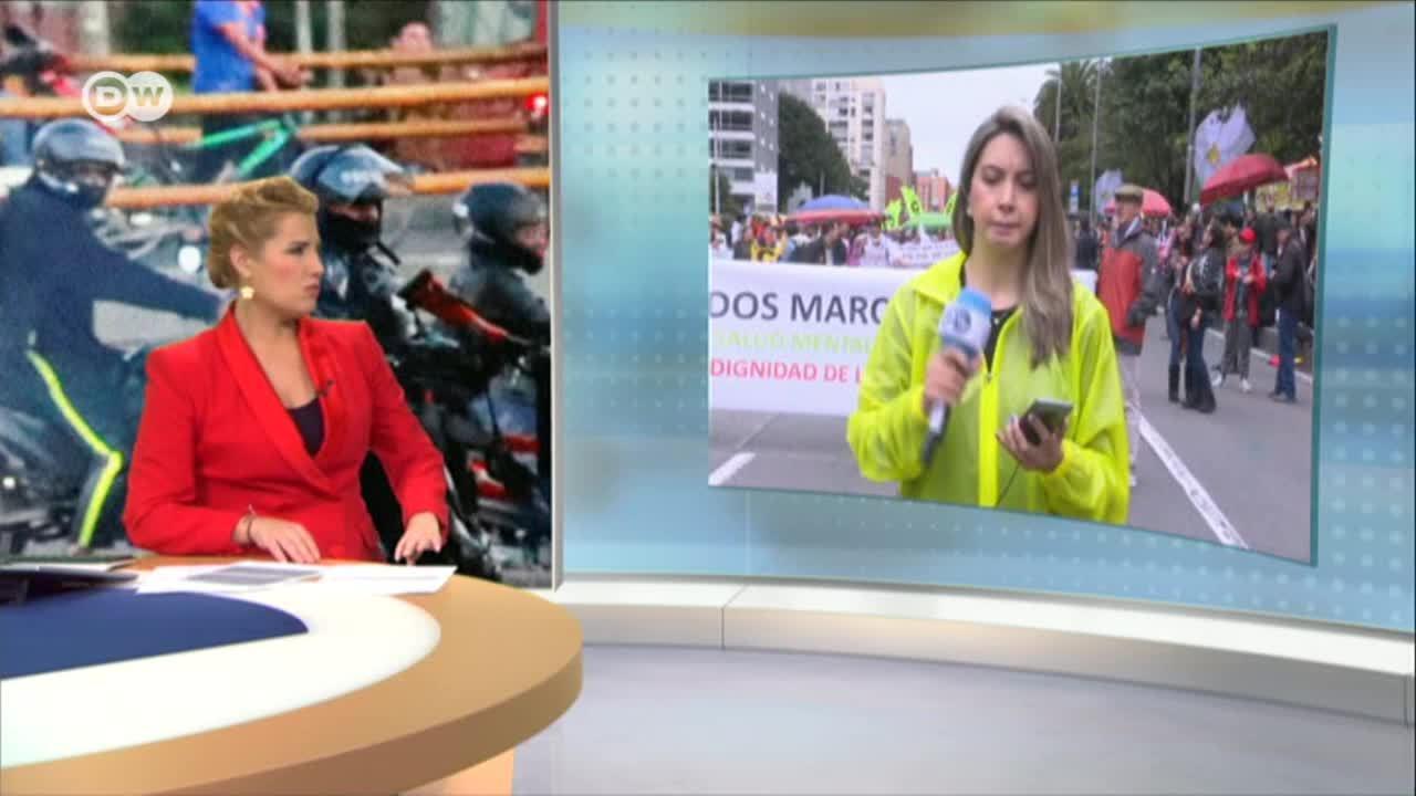 Colombia: llamado a un paro nacional en paz