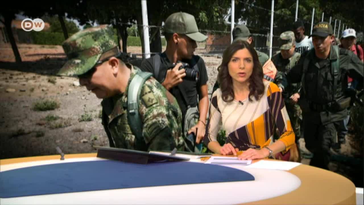 Colombia recibe a uniformados venezolanos